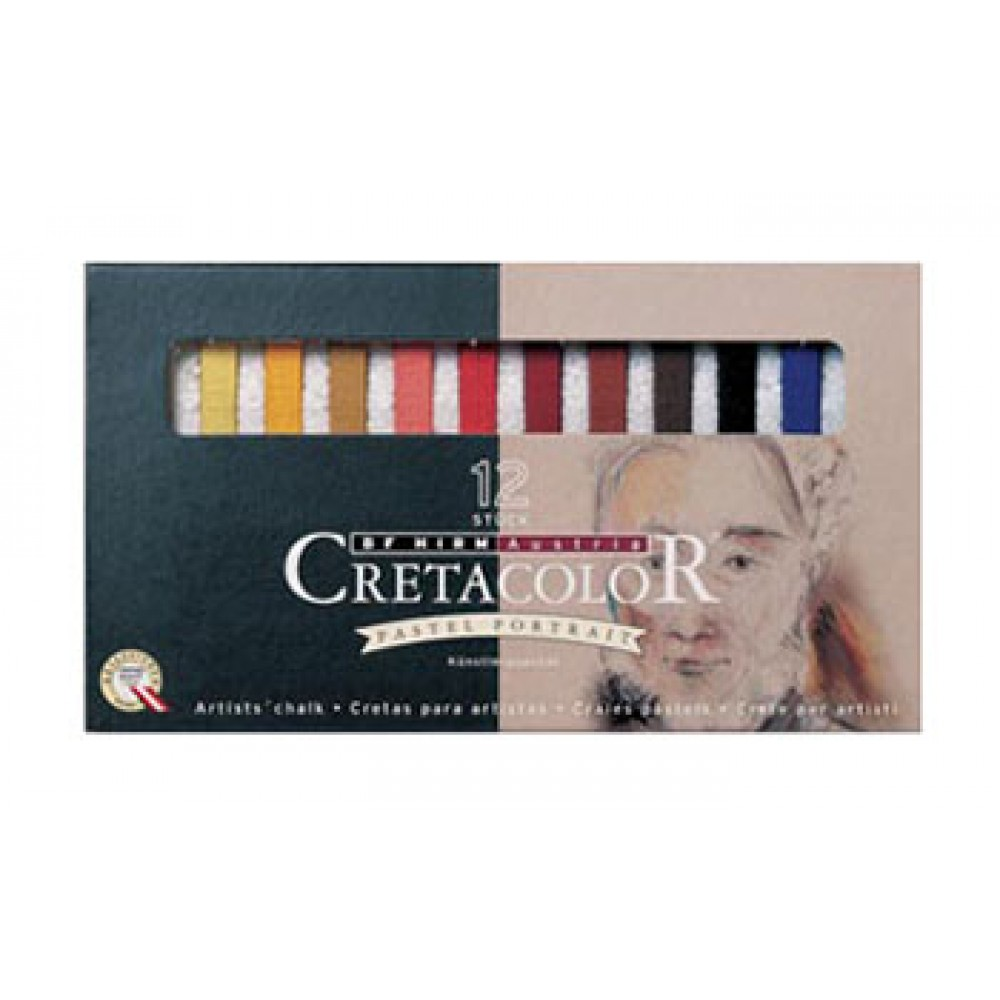 Cretacolor : Carres 12 Portrait Colours