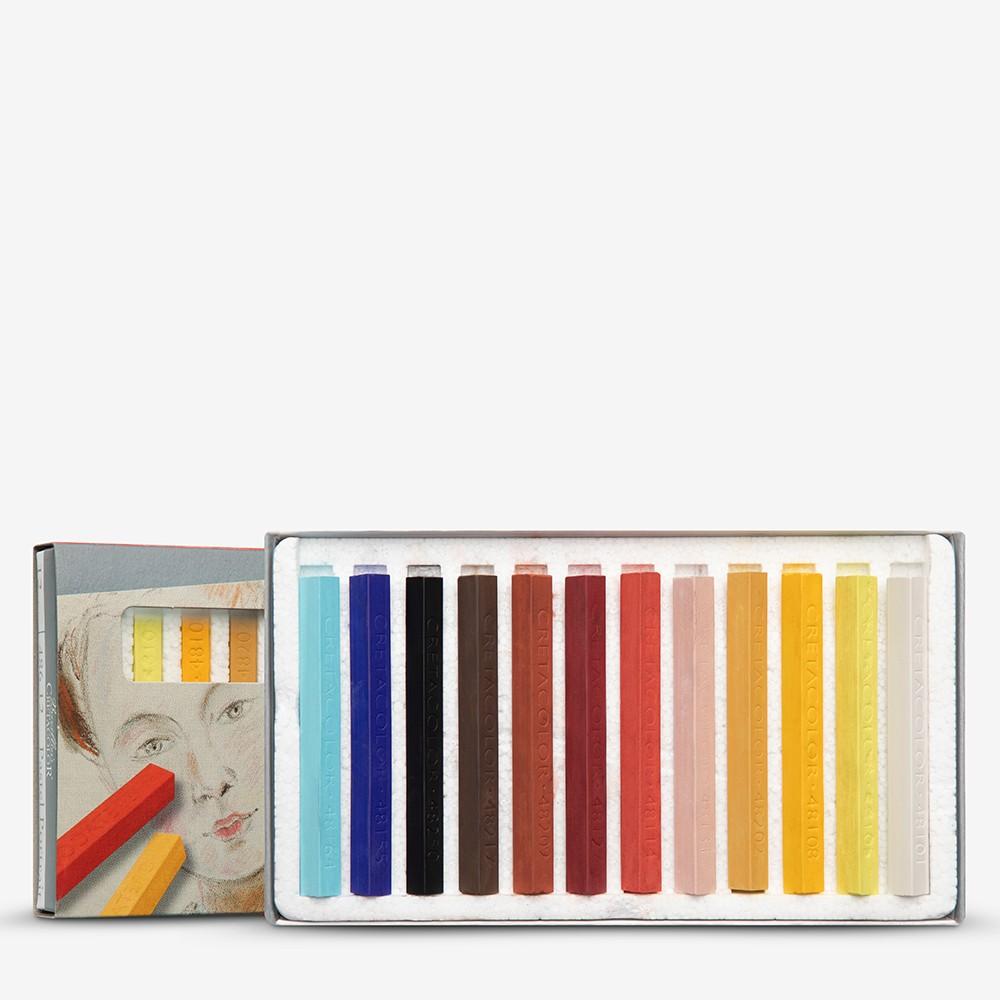 Cretacolor : Carres 12 Portrait Colours