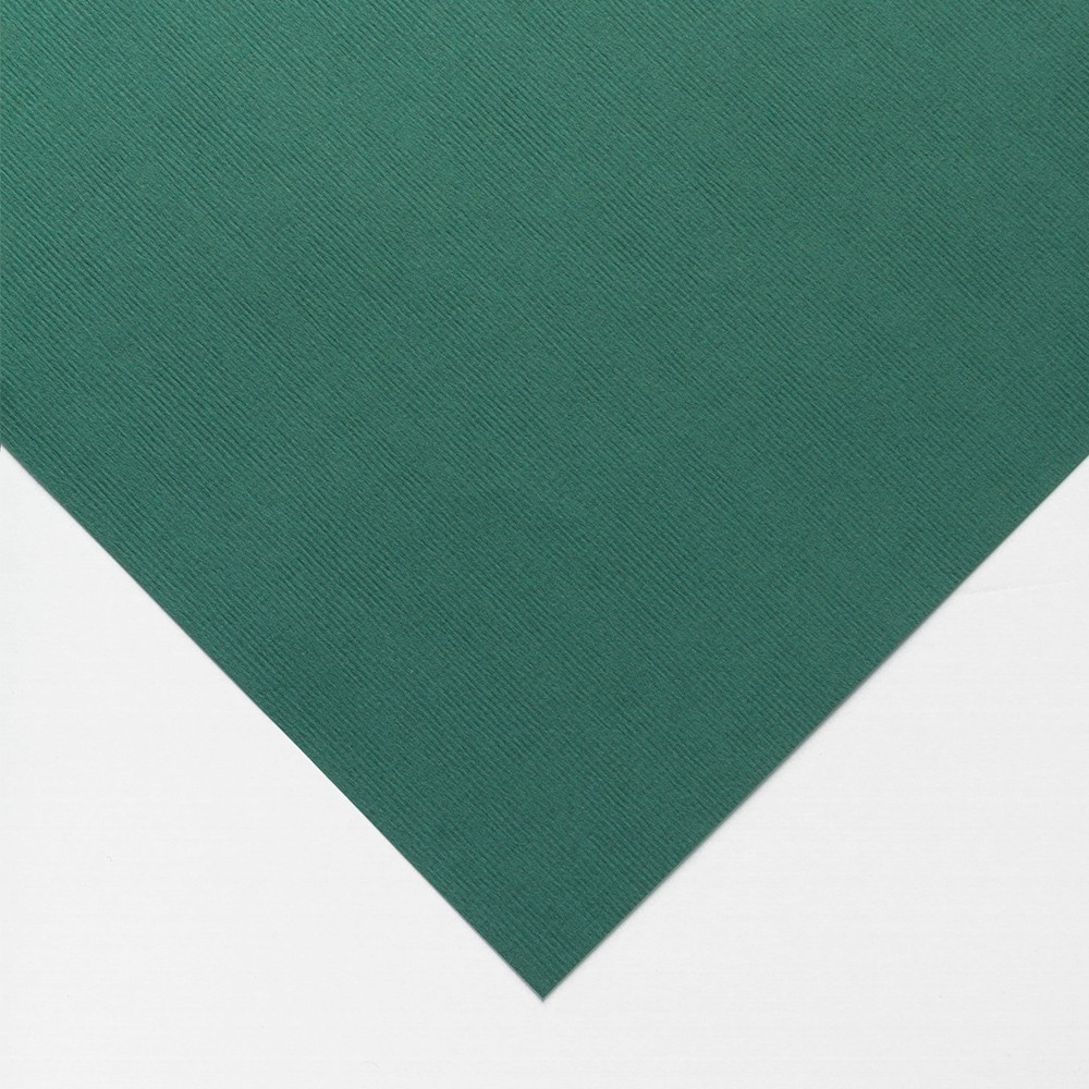 Clairefontaine : Ingres : Pastel Paper : Sheet : 50x65cm : Deep Green