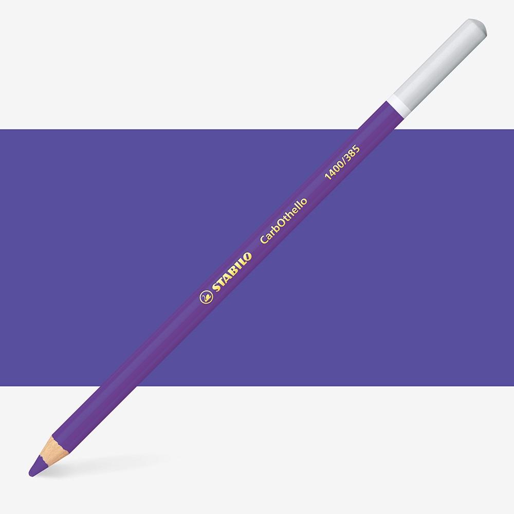 Swan Stabilo : Carbothello : Pastel Pencil : Violet Deep : 385
