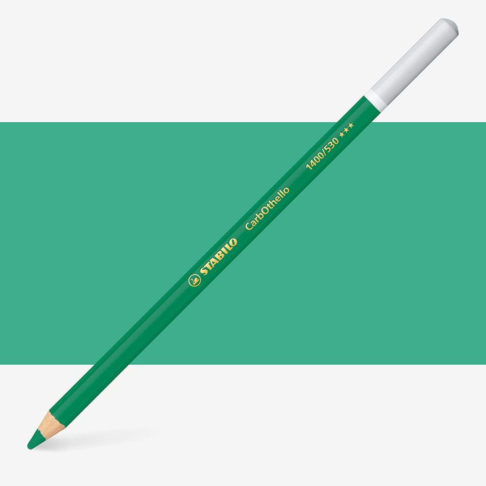 Stabilo Carbothello : Pastel Pencil Emerald Green : 530