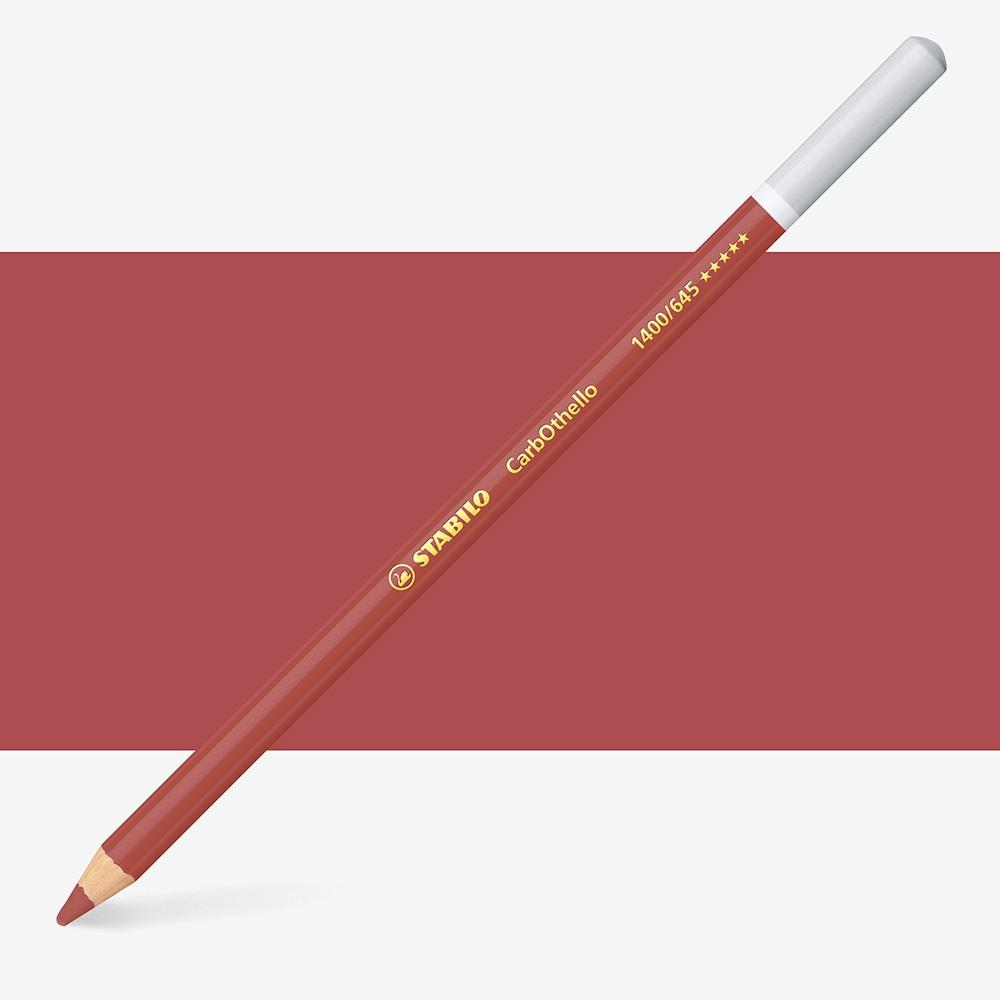 Stabilo Carbothello : Pastel Pencil Caput Mortuum Red : 645
