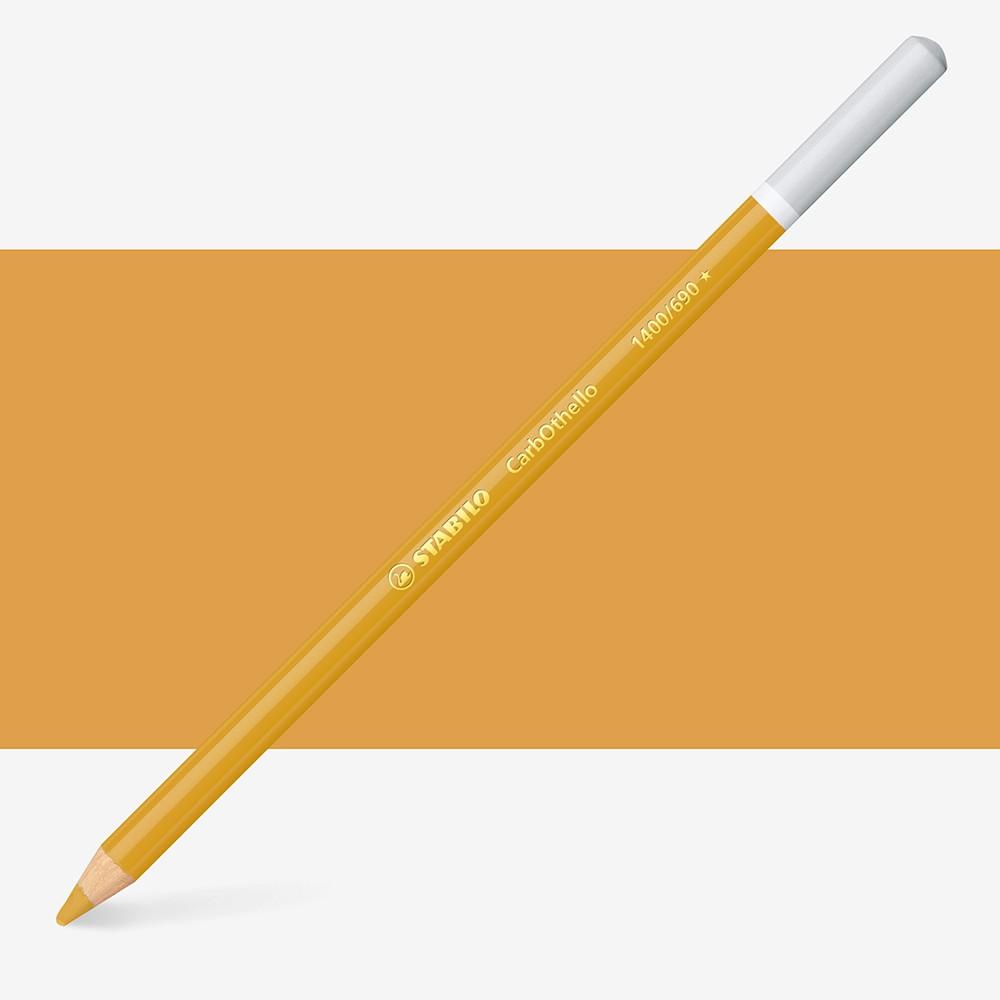 Stabilo Carbothello : Pastel Pencil Golden Ochre : 690
