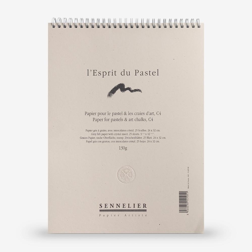 Sennelier : Soft Pastel Paper Pad : 130gsm : 25 Sheets : 32x24cm