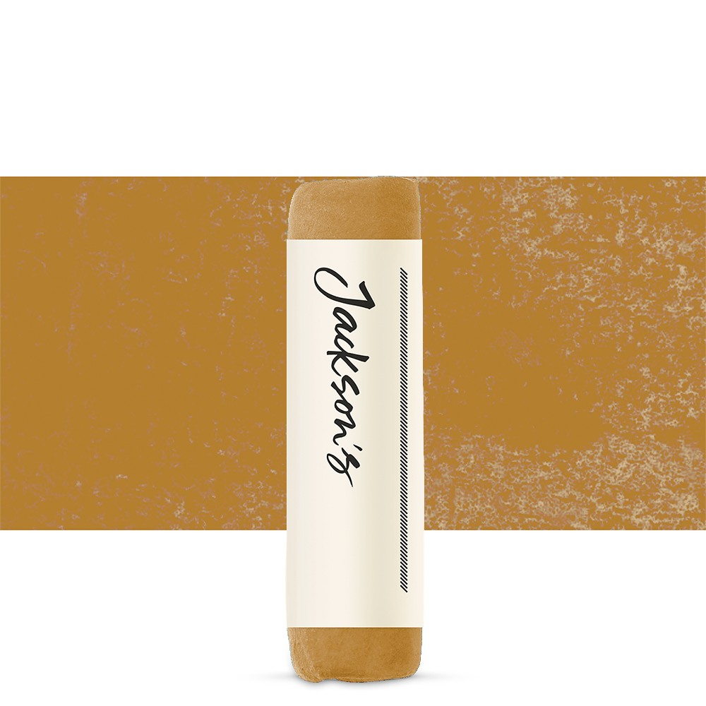 Jacksons : Handmade Soft Pastel : Gold Ochre