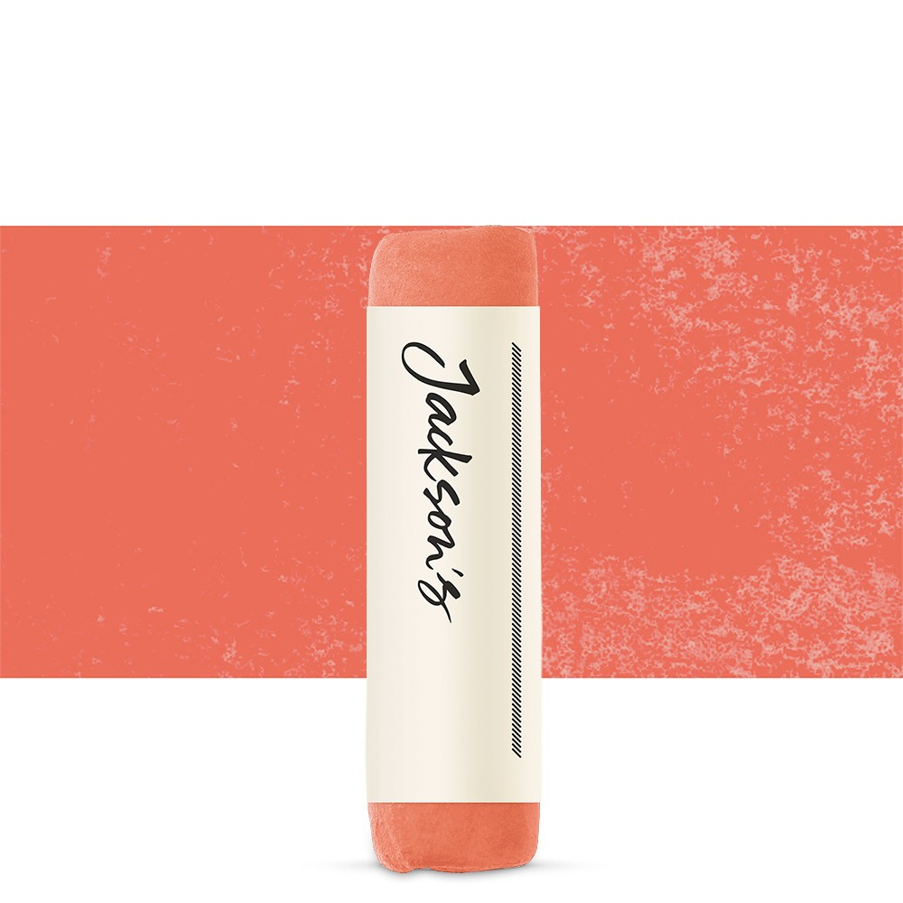 Jacksons : Handmade Soft Pastel : Vermilion Orange