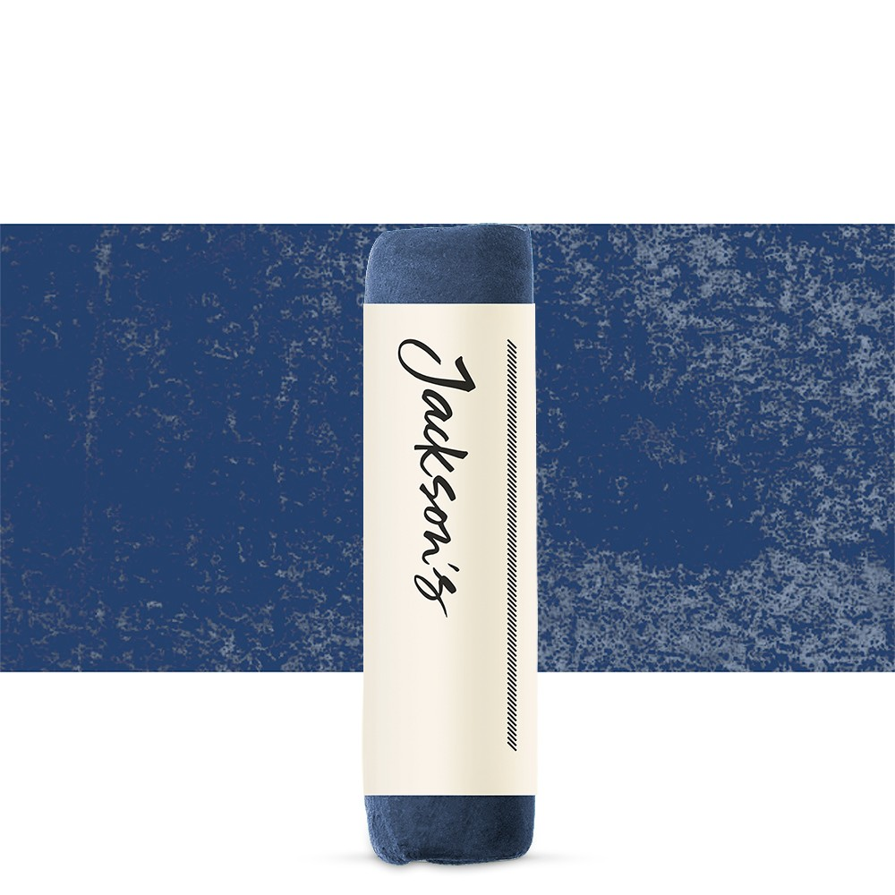 Jacksons : Handmade Soft Pastel : Deep Phthalo Blue