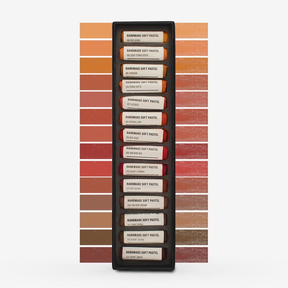Jacksons : Handmade Soft Pastel : 14 Colours : Set 4