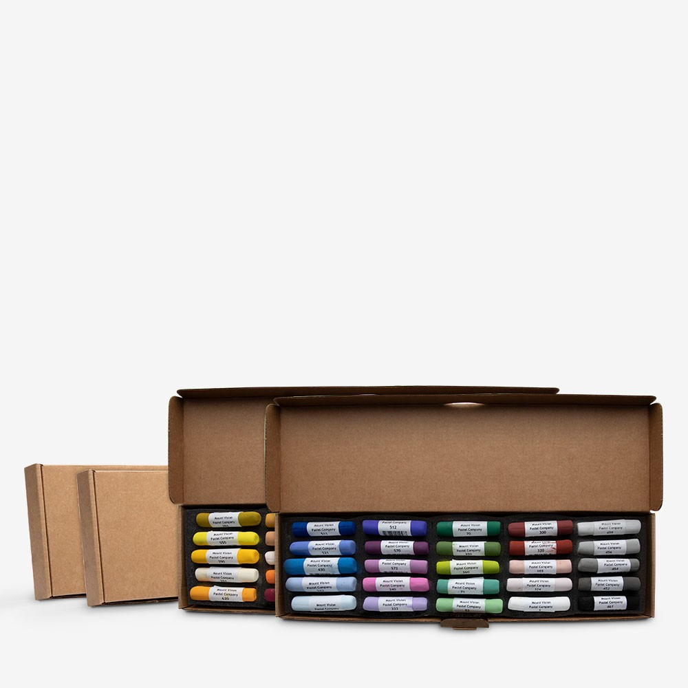 Mount Vision Soft Pastel : Set of 50 : Workshop Selection A & B