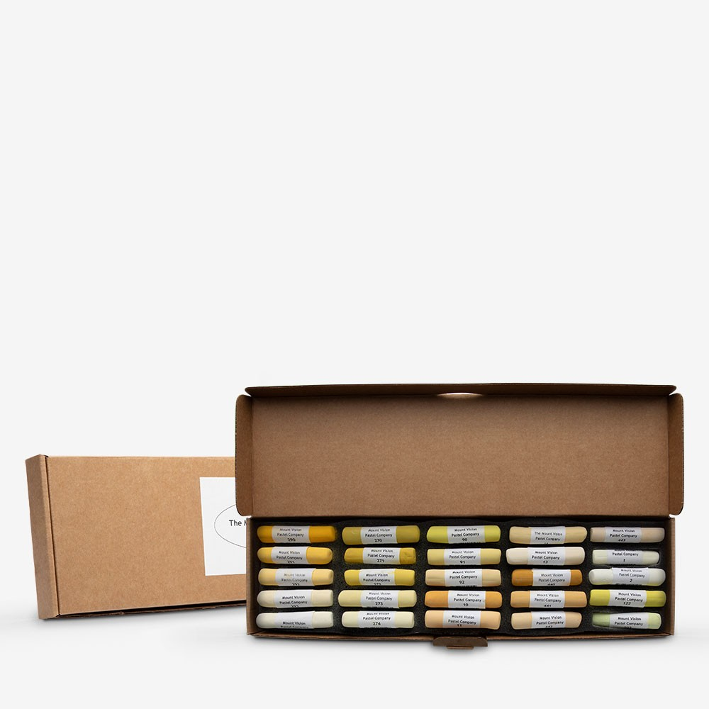 Mount Vision Soft Pastel : Set of 25 : Yellows
