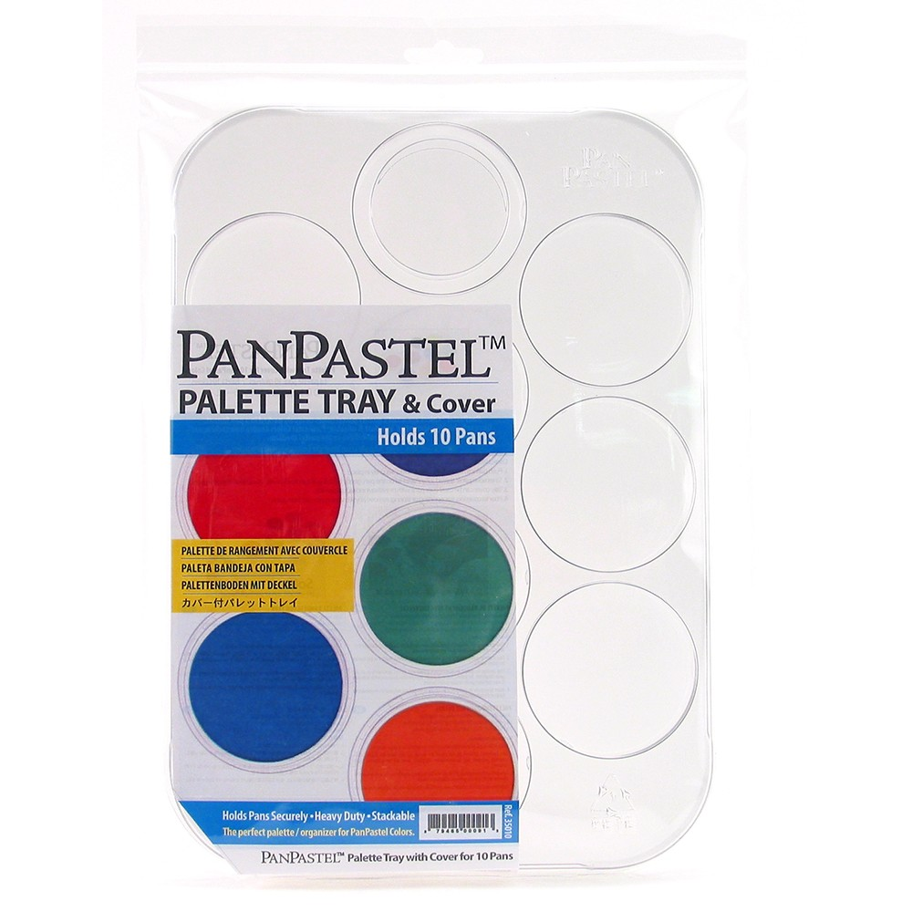PanPastel : Palette/Tray with lid : holds 10 colours
