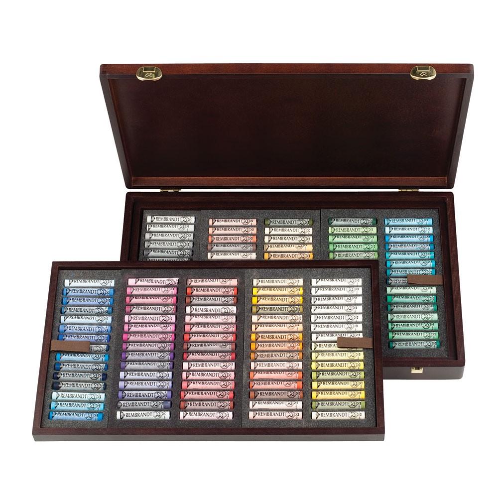 Talens : Rembrandt Soft Pastel : 150 Assorted Wooden Box Set : Master