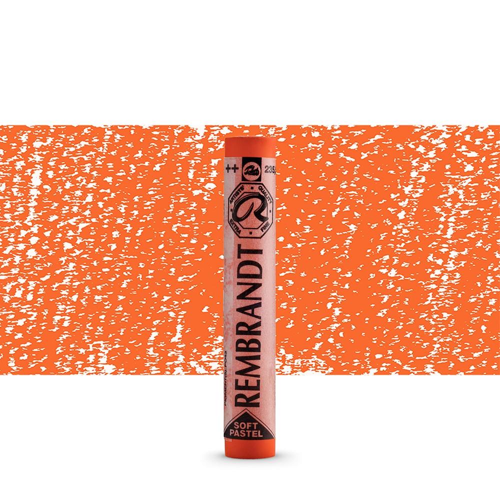 Talens : Rembrandt Soft Pastel : Orange TR235.5