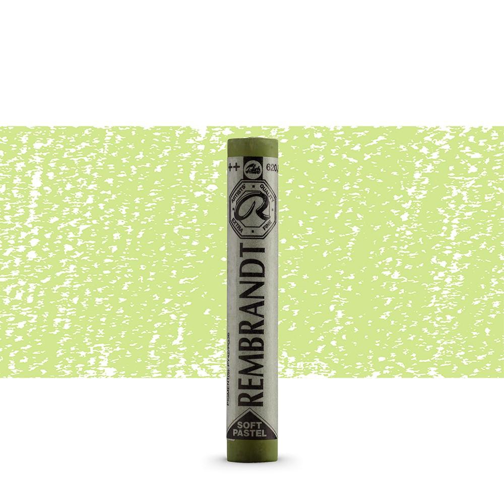 Talens : Rembrandt Soft Pastel : Olive Green TR620.8