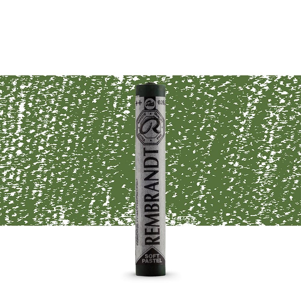 Talens : Rembrandt Soft Pastel : Cinnabar Green Light TR626.3