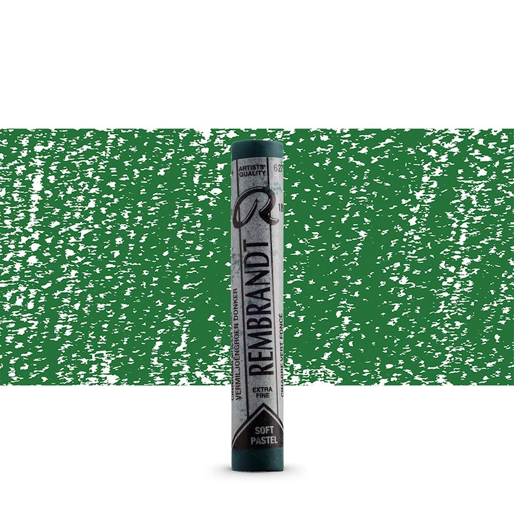 Talens : Rembrandt Soft Pastel : Cinnabar Green Deep TR627.5