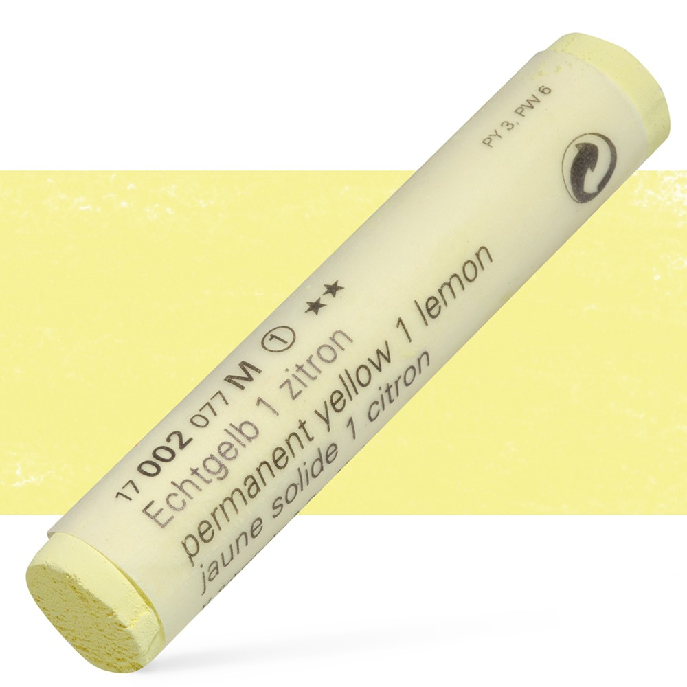 Schmincke : Soft Pastel : Permanent Yellow Lemon- 02M