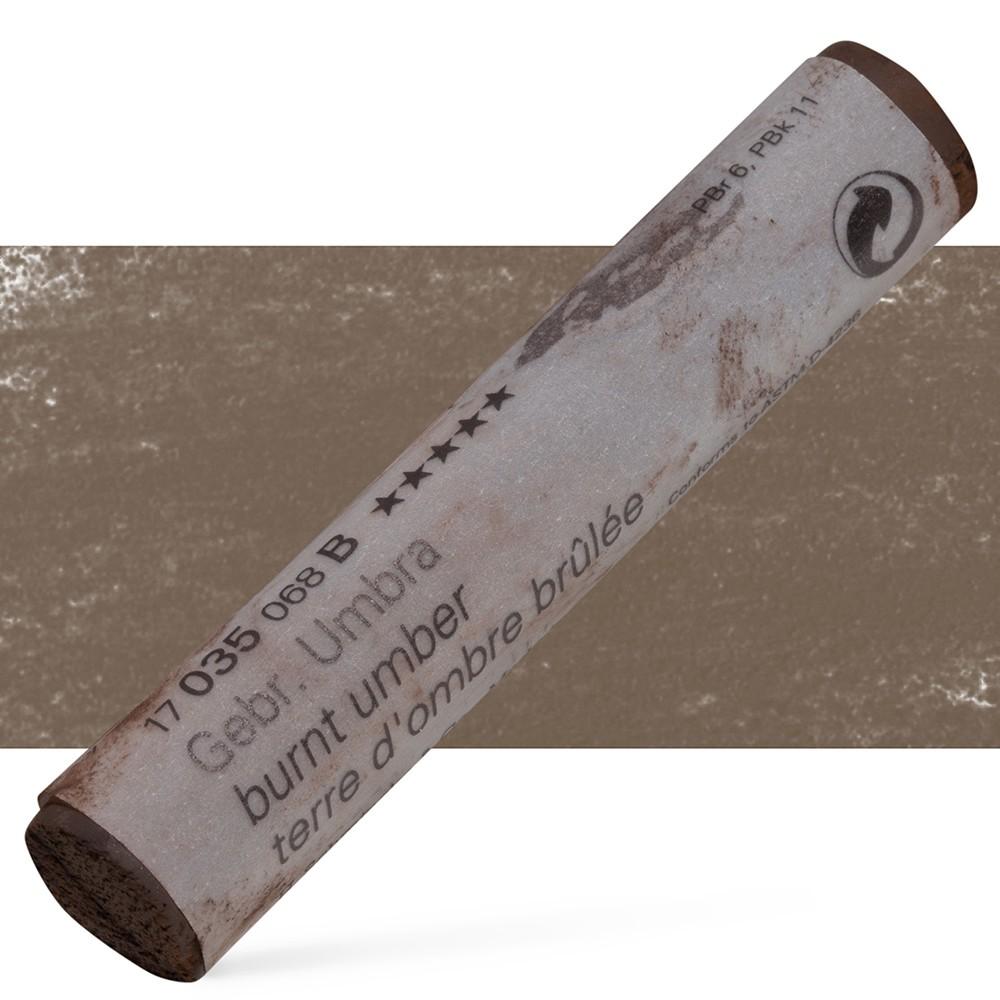 Schmincke : Soft Pastel : Burnt Umber- 35B