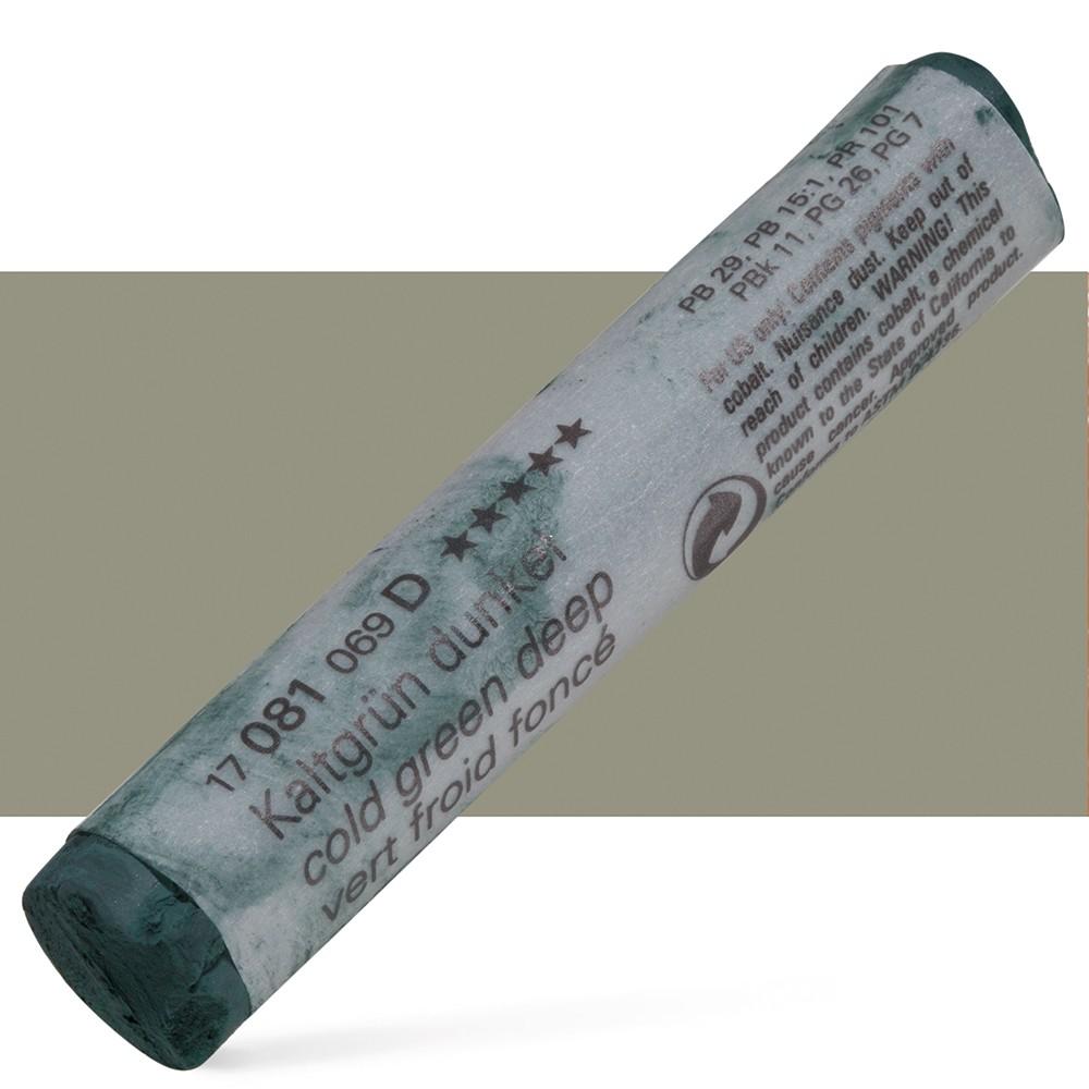 Schmincke : Soft Pastel : Cold Green Deep- 81D