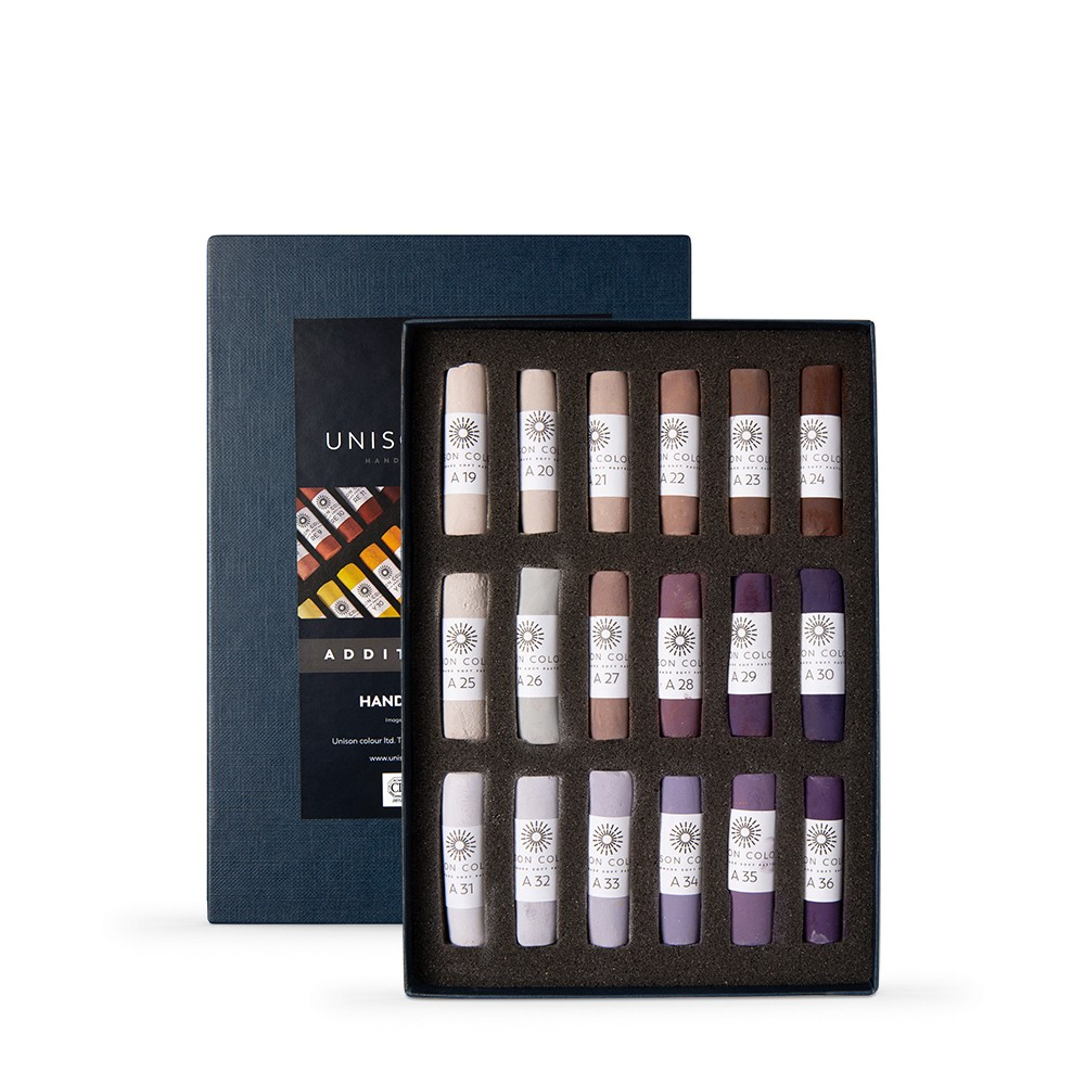 Unison Colour : Soft Pastel : Set of 18 Additional 19-36