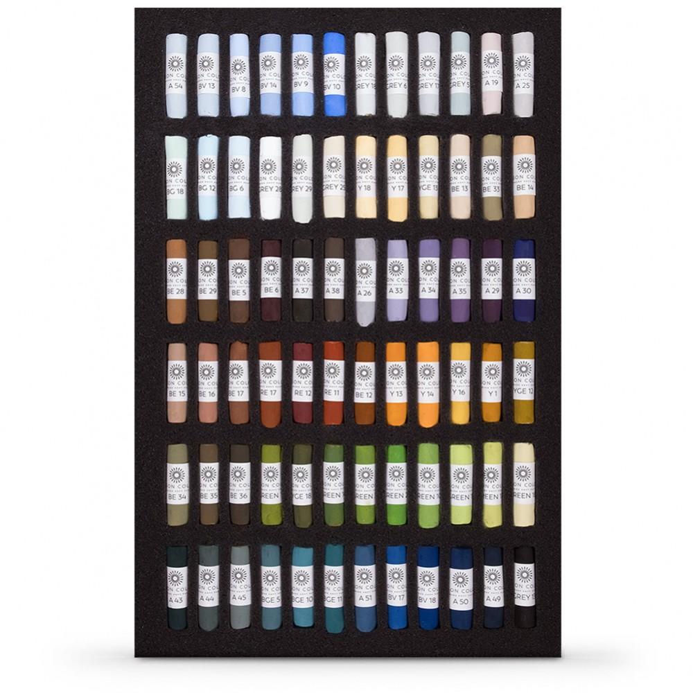 Unison : Soft Pastel : Set of 72 for Landscapes in a black presentation box