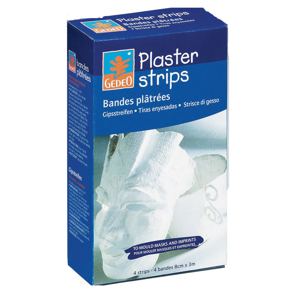 Pebeo Gedeo PLASTER BANDS 4 rolls of 3Mx 8CM