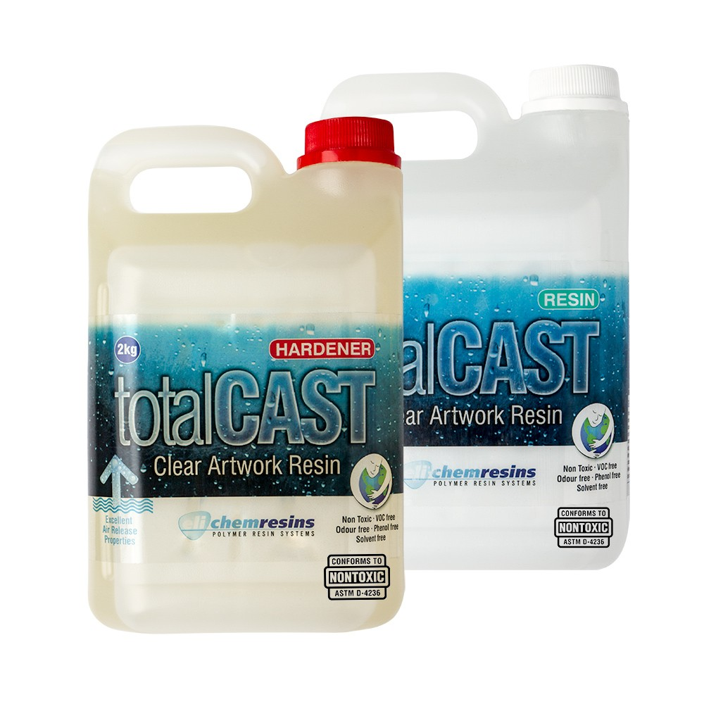 TotalCast : Clear Artwork Resin Kit : 4kg