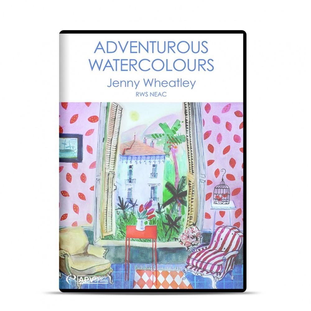 DVD : Adventurous Watercolours : Jenny Wheatley