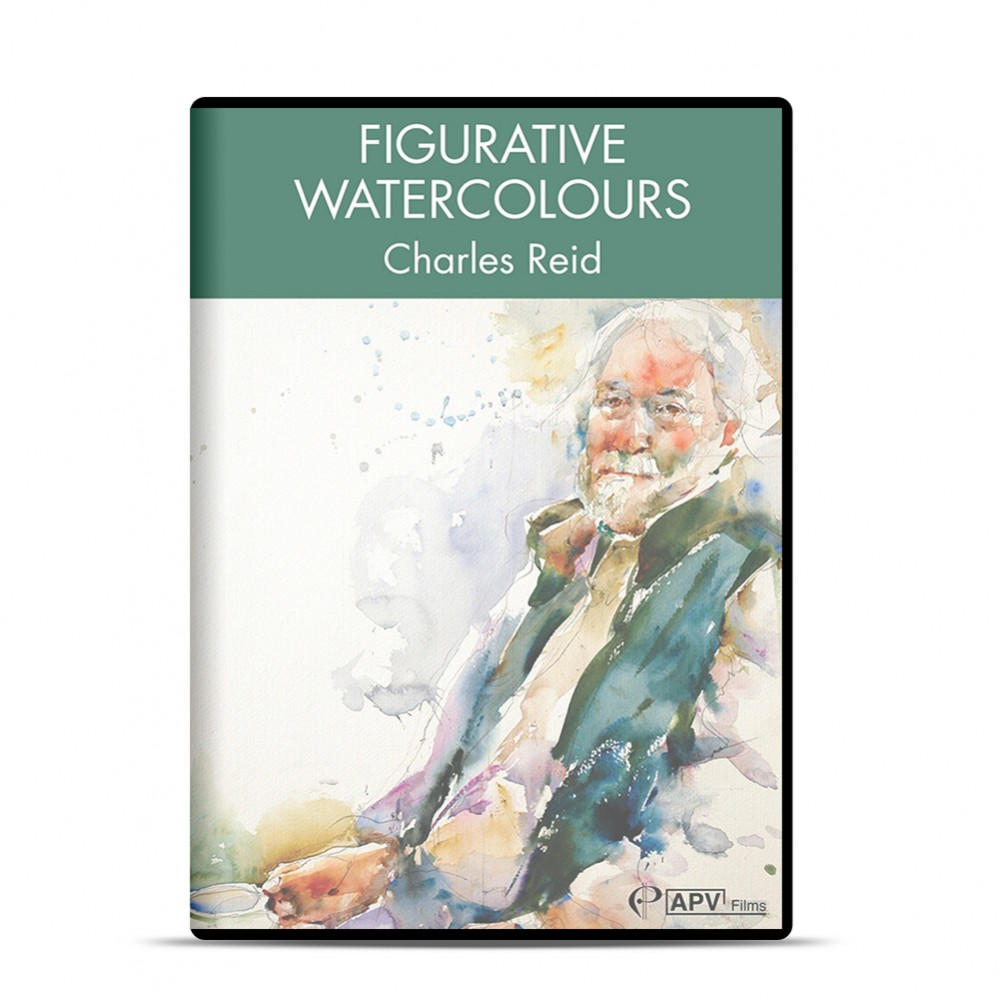 DVD : Figurative Watercolour : Charles Reid
