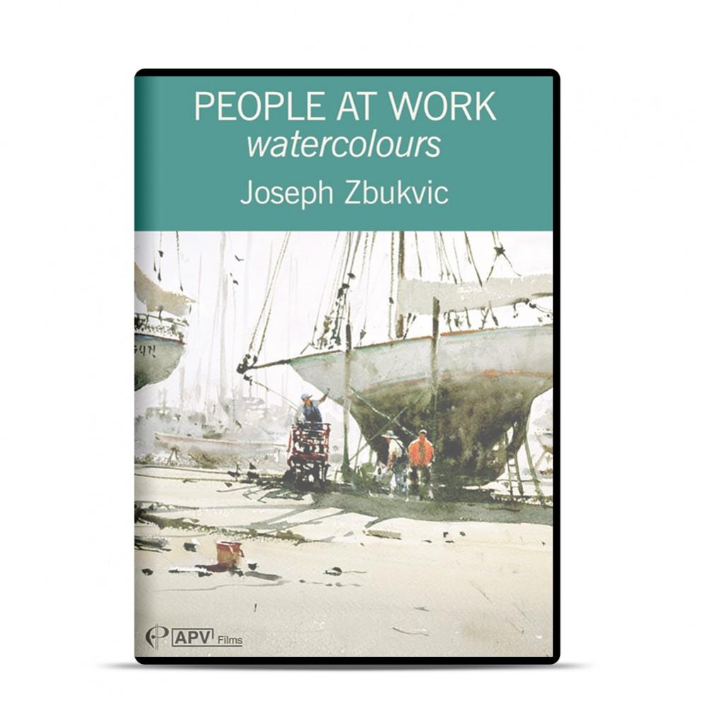 DVD : People at Work - Watercolours : Joseph Zbukvic