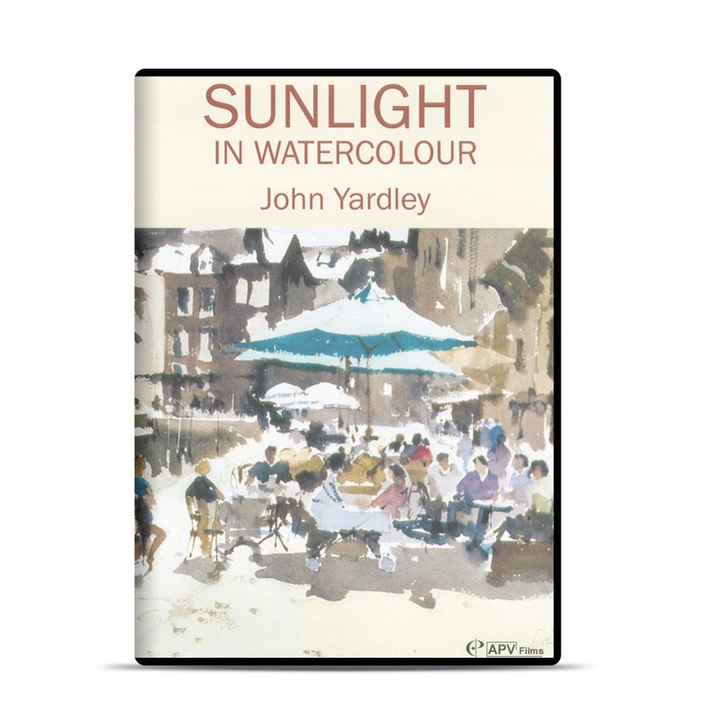 DVD : Sunlight In Watercolour : John Yardley