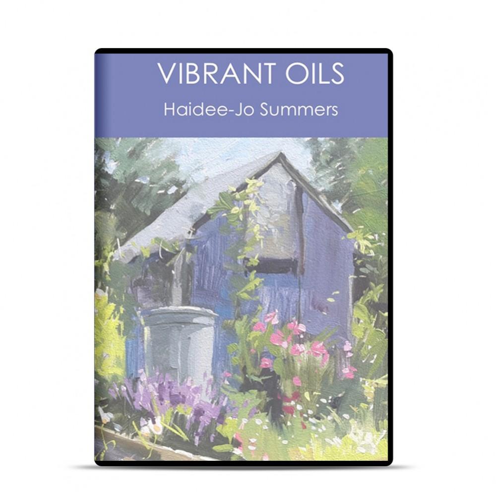 DVD : Vibrant Oils : Haidee-Jo Summers