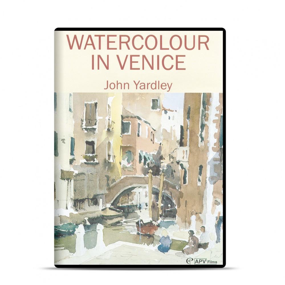 DVD : Watercolour in Venice : John Yardley