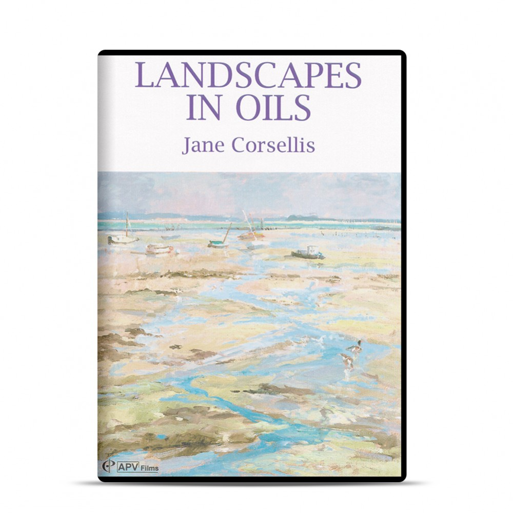 DVD : Landscapes In Oil : Jane Corsellis