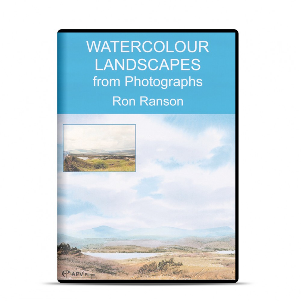 DVD : Watercolour Landscapes : Ron Ranson