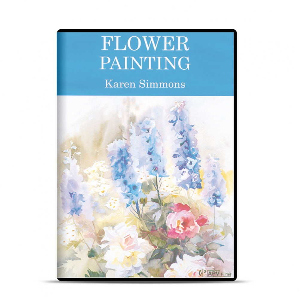 DVD : Flower Painting : Karen Simmons
