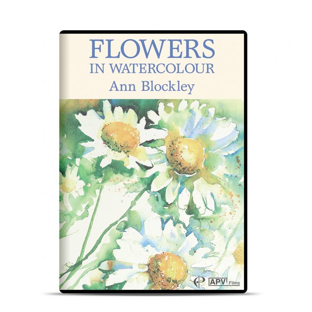 DVD : Flowers in Watercolour : Ann Blockley