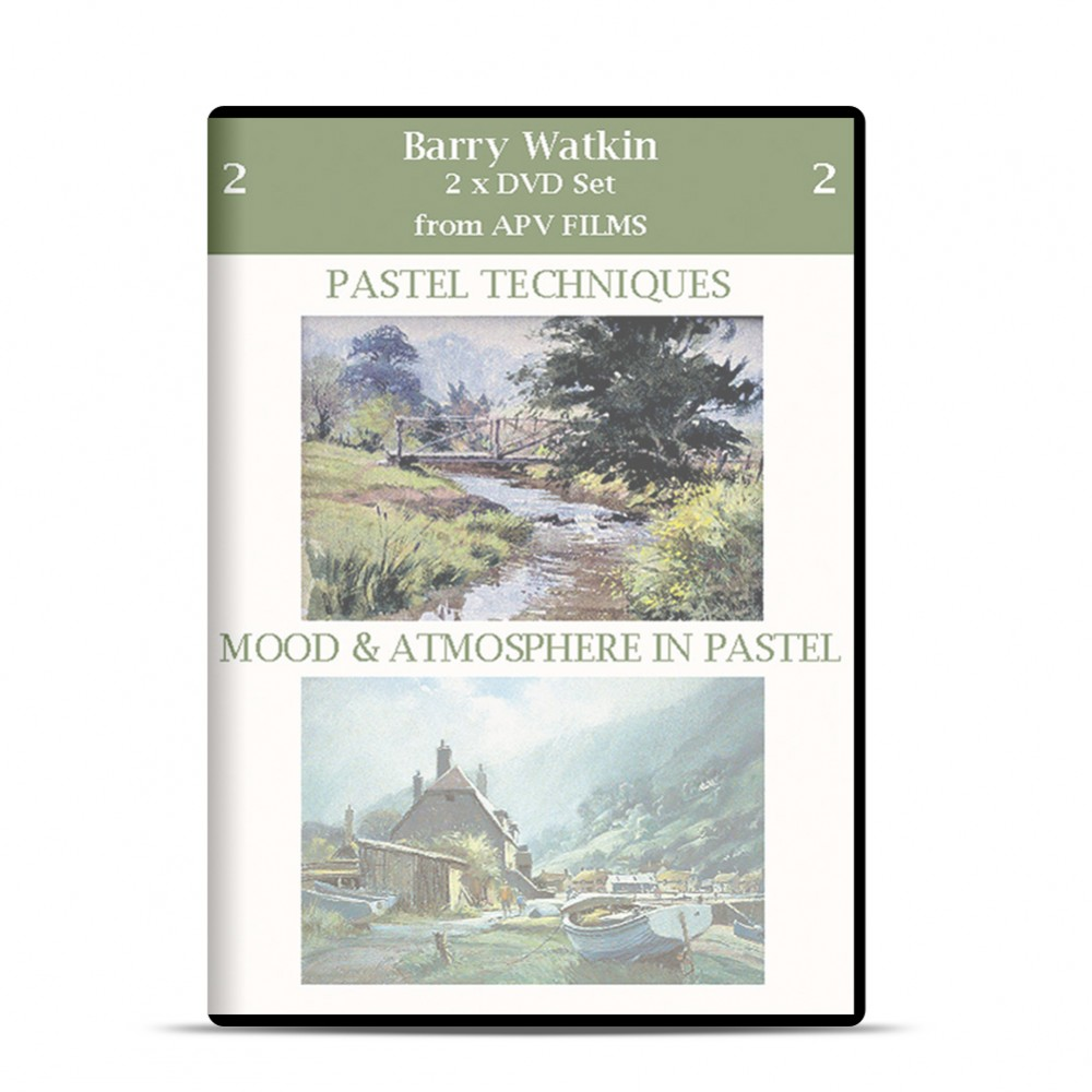 DVD : Twin Pack : Pastel Techniques, Mood and Atmosphere : Barry Watkins