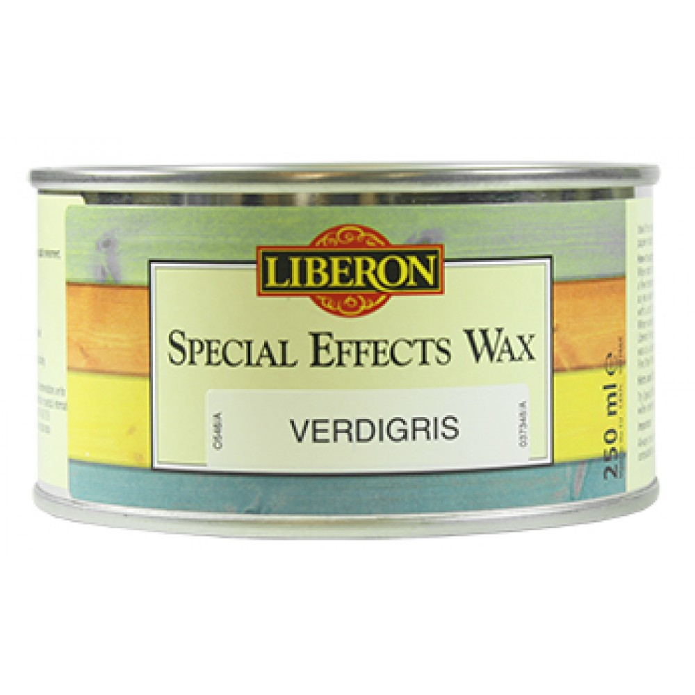 Verdigris Wax 250ml. Gives a Green Hue for Oxidised Copper or Brass Effects