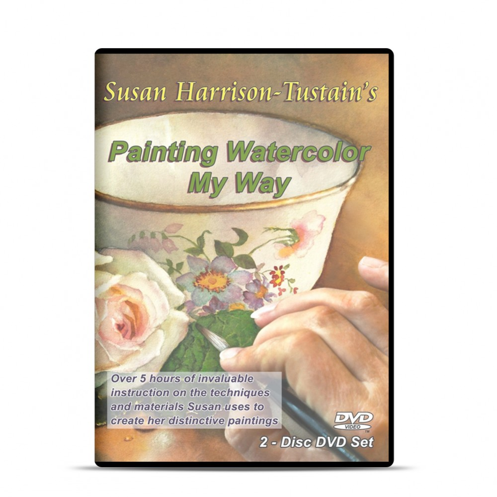 DVD : Susan Harrison-Tustain's Painting Watercolor My Way : 2 Disc Set