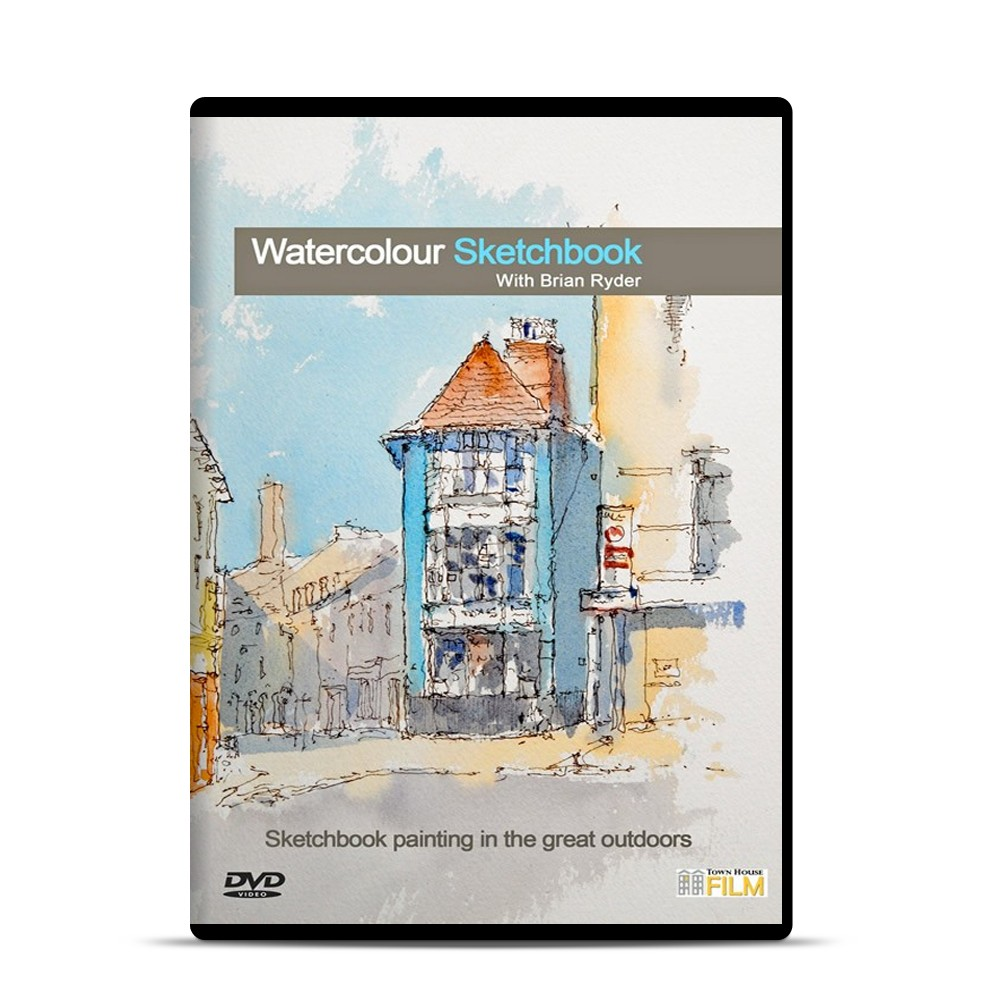 Townhouse DVD : Watercolour Sketchbook : Brian Ryder
