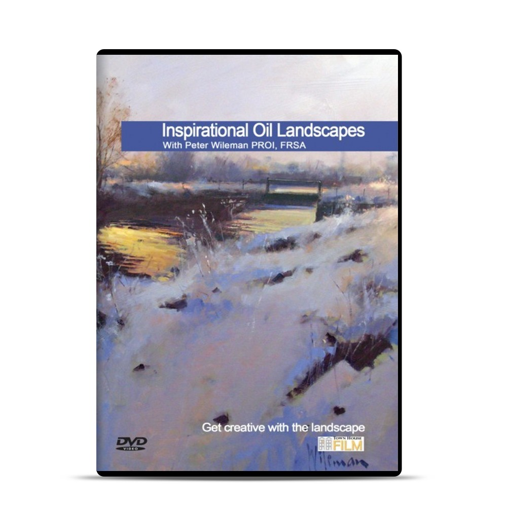 Townhouse DVD : Inspirational Oil Landscapes : Peter Wileman PROI FRSA