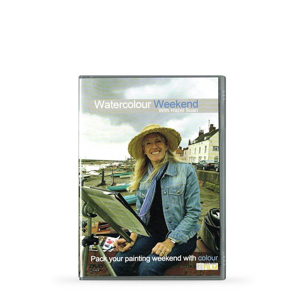 Townhouse DVD : Watercolour Weekend : Hazel Soan