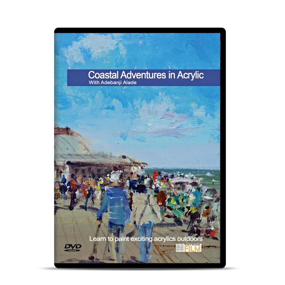 Townhouse DVD : Coastal Adventures in Acrylic : Adebanji Alade Prov ROI