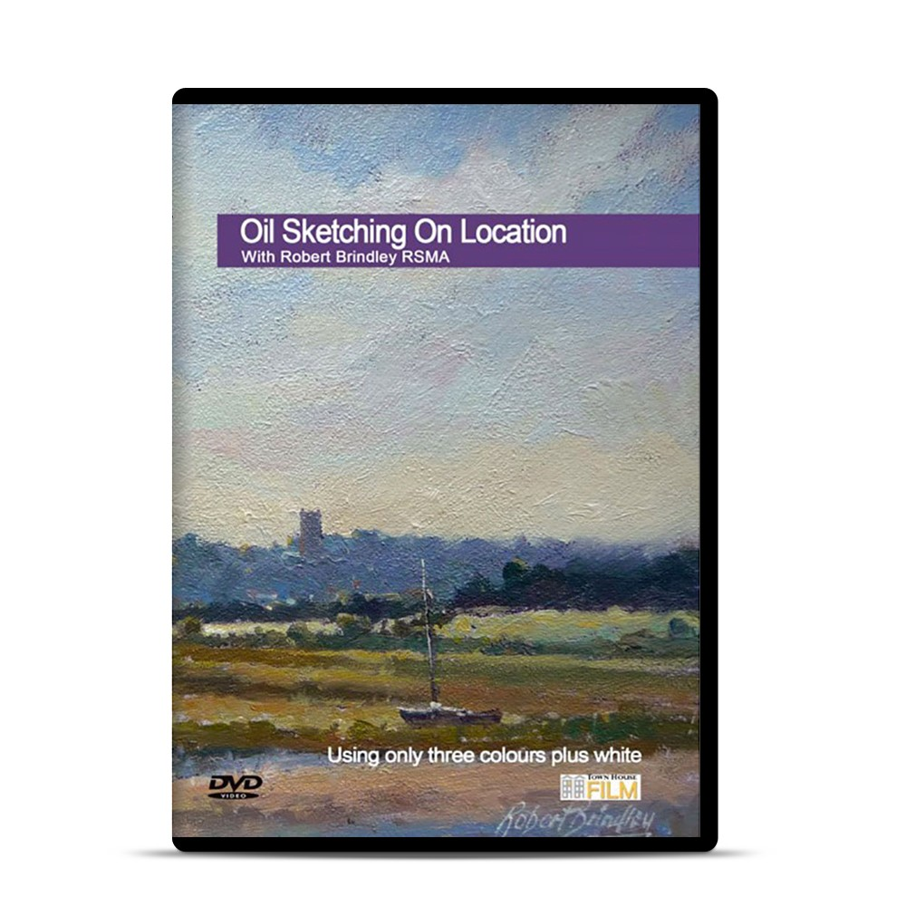 Townhouse DVD : Oil Sketching on Location : Robert Brindley RSMA