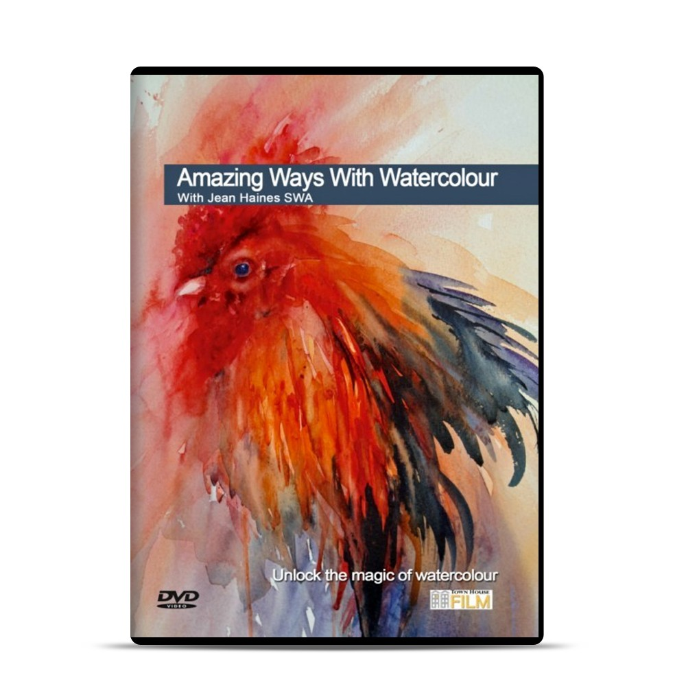 Townhouse DVD : Amazing Ways : Watercolour : Jean Haines SWA