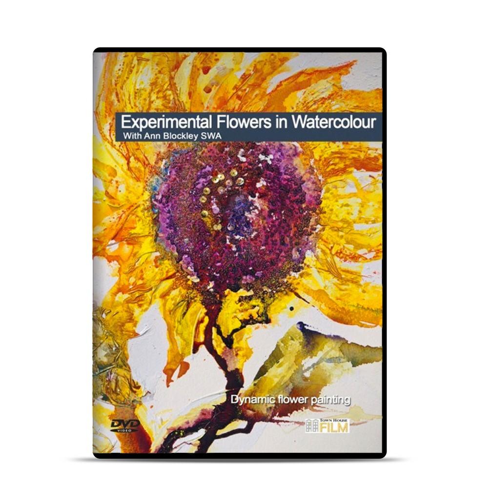 Townhouse DVD : Experimental Flowers in Watercolour : Ann Blockley