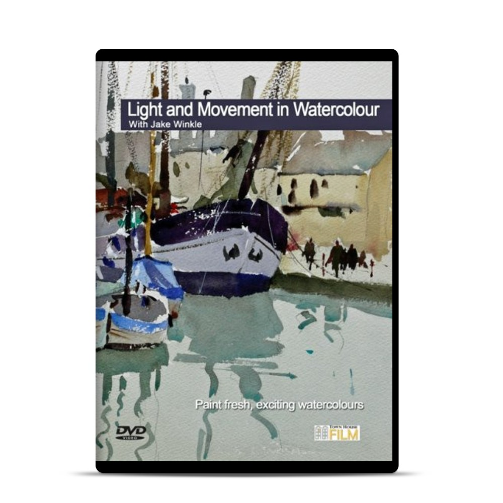 Townhouse DVD : Light Movement in WaterColour : Jake Winkle