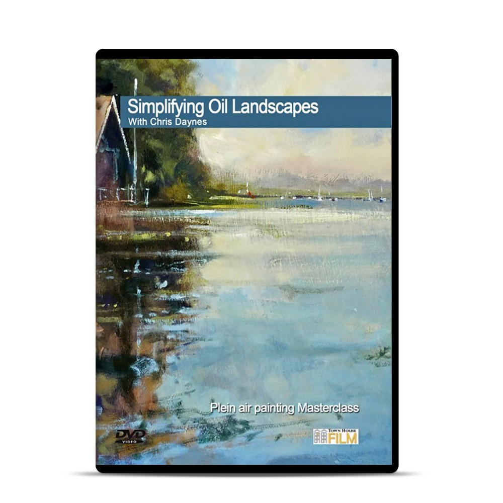 Townhouse DVD : Simplifying Oil Landscapes : Chris Daynes