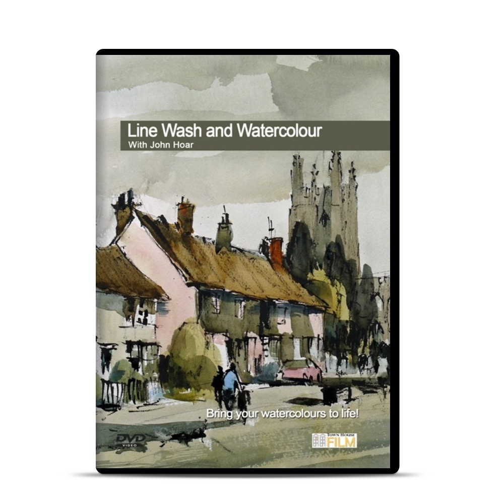Townhouse DVD : Line Wash Watercolour : John Hoar